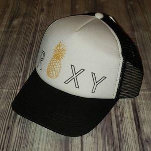Roxy Reggae Town mesh snap back hat
